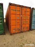 40' Shipping Container, s/n HLXU6339077