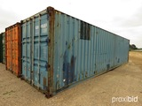 40' Shipping Container, s/n GESU4186080