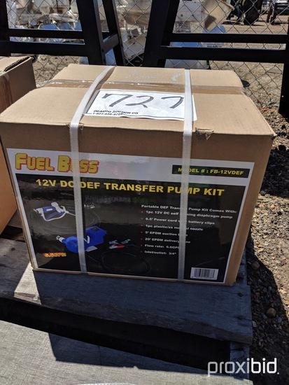 Fuel Boss 110-volt DEF Transfer Pump