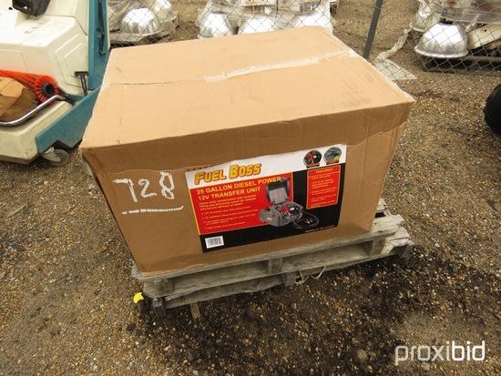 Fuel Boss 12-volt, 25-gallon Fuel Tank and Pump Combo