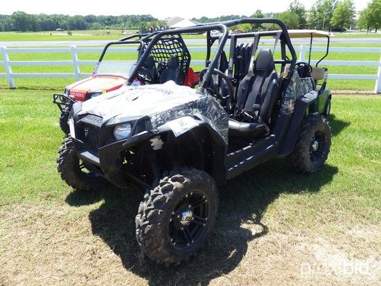 2014 Polaris Sickspeed Utility Cart, s/n 4XAVE76A7EF363035 (No Title - $50