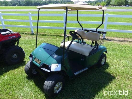 EZGo Electric Golf Cart, s/n 2381593 (No Title): 36-volt