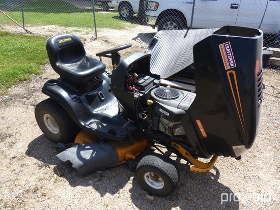 """Craftsman Riding Mower, s/n 011065: 42"""" Cut, 24hp B&S Eng., w/ Assorted Spa"""