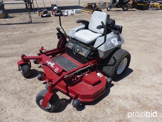 "ExMark Laser Z Zero-turn Mower, s/n 352863: 60"", Meter Shows 623 hrs"