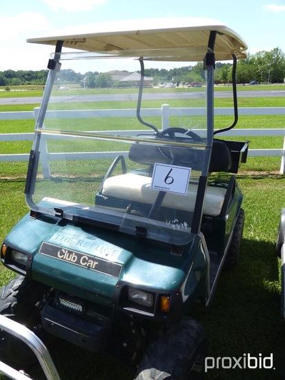 Club Car Golf Cart, s/n AG0708-729824 (No Title)