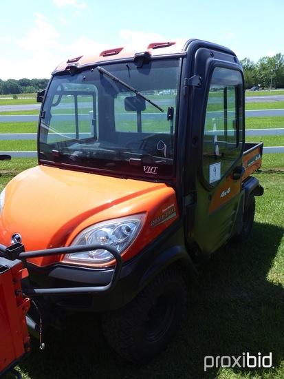 Kubota RTV1100 VHT 4WD Utility Vehicle, s/n 37165 (No Title - $50 Trauma Ca