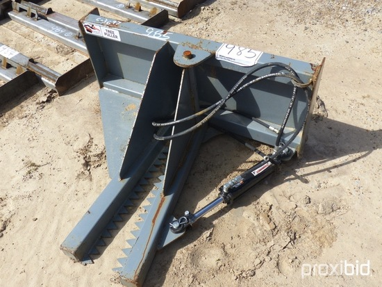 Hawz Tree Puller: for Skid Steer, One Cylinder