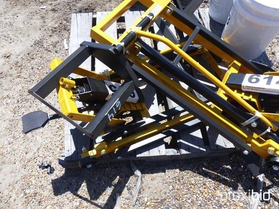 Lawn Mower Jack: Heavy-duty, Portable, Adj. Width, 450 lb. Cap.