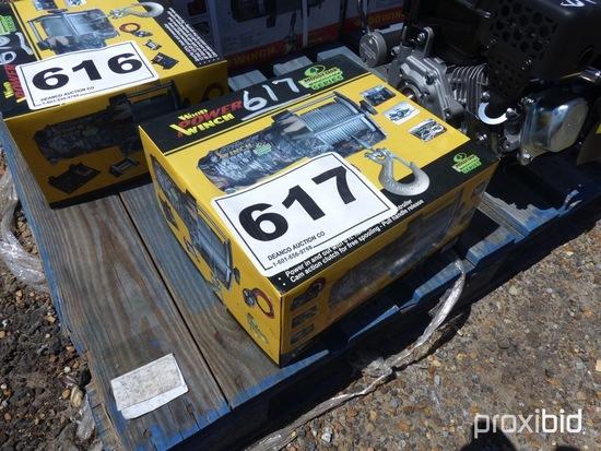 2000 lb. ATV Winch: Heavy-duty, Metal Gears, No Plastic