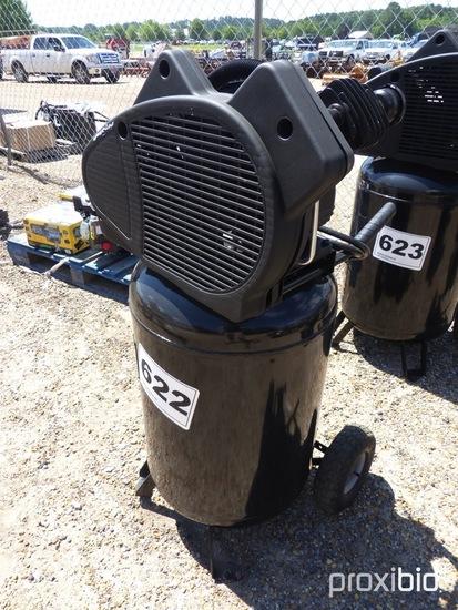 Miller 5hp 30-gal Air Compressor: Oil Lube V-Twin Cast Iron Pump