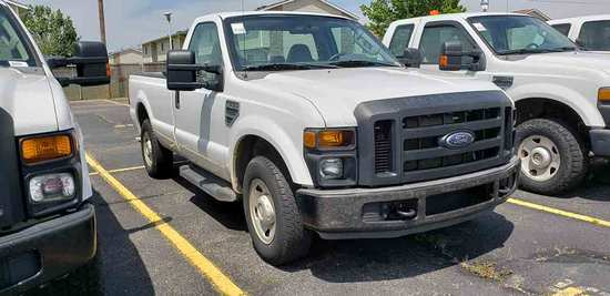 2008 Ford F250 Super-duty XL Pickup, s/n 1FTNF20568ED98809: 2wd, Gas Eng.,