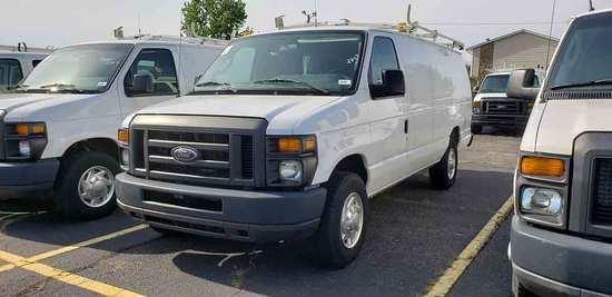 2012 Ford Econoline E350 Super-duty Cargo Van, s/n 1FTSS3EL2CDB07958: 2wd,