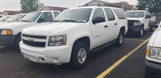2008 Chevy Suburban 2500 LS SUV, s/n 3GNGC26K08G306012: 2wd, Gas Eng., 4-do