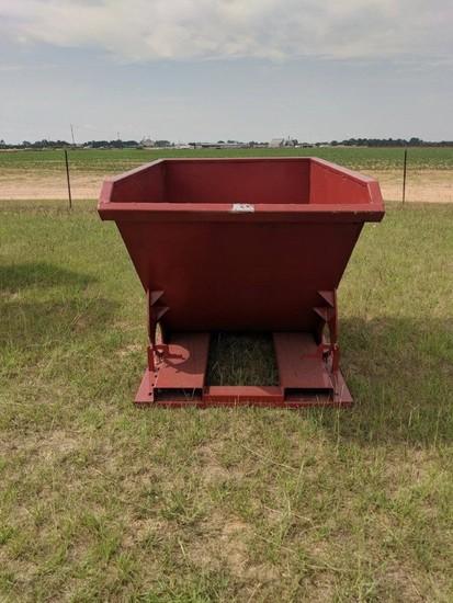 Self Dumping Hopper, 1.5 yards, S/N 56454