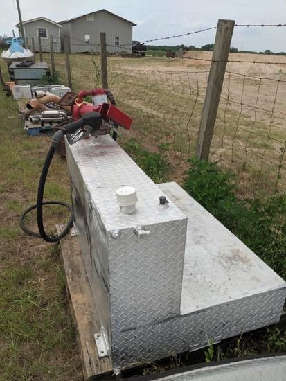 Aluminum Fuel Tank with Pump
