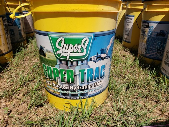 (5) 5-gal Buckets Tractor Hydraulic Fluid