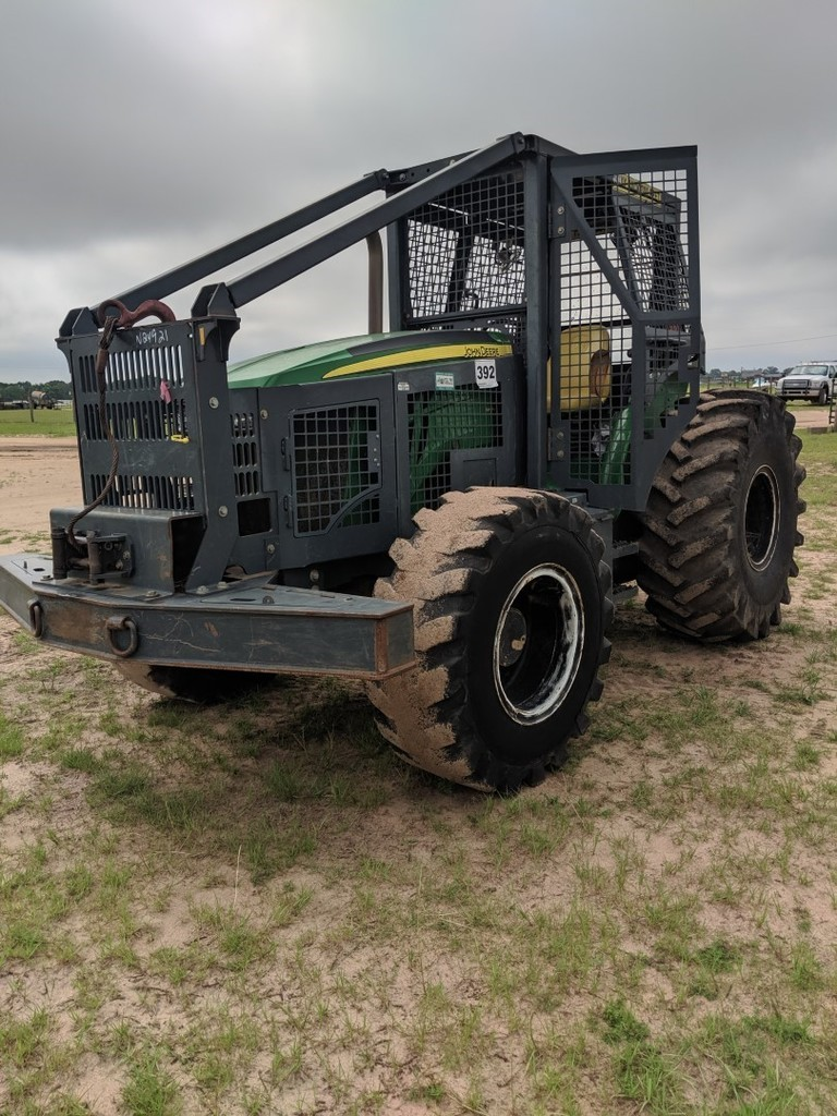 2013 John Deere 5100M with Forestry Tractor, S/N 1LV5100MKDB512589, Showing
