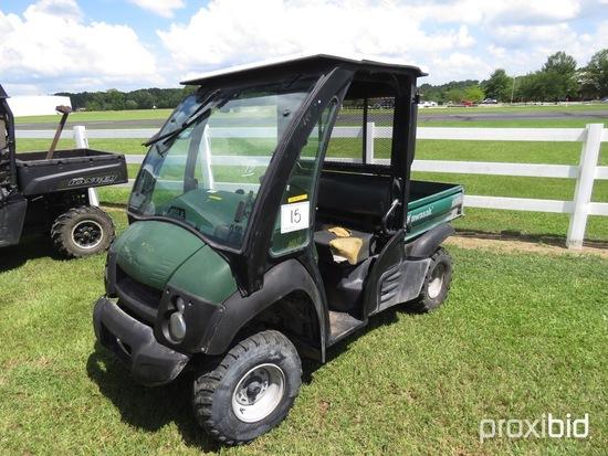 2012 Kawasaki 600 Mule Utility Vehicle, s/n JK1AFEB10CB523558 (No Title - $