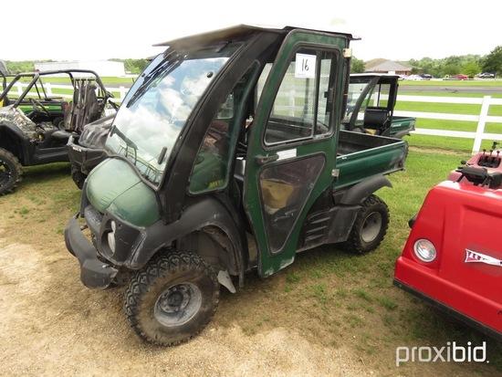 2012 Kawasaki 600 Mule Utility Vehicle, s/n JK1AFEB15CB523409 (No Title - $