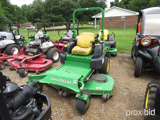 "John Deere 997 Z Trak Mower, s/n TC997SC040971: 72"" Deck, Canopy, Diesel En"
