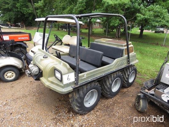 Max 6-wheel Swamp Buggy (No Title - $50 Trauma Care Fee Applies): Rollbar,