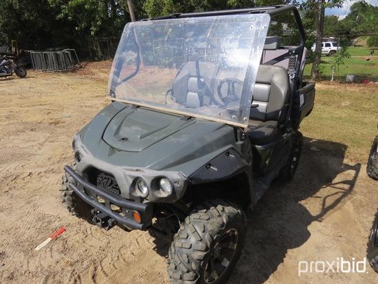 2014 Kawasaki 750cc Intimidator 4WD Utility Vehicle, s/n A7BCX34GPEB001579