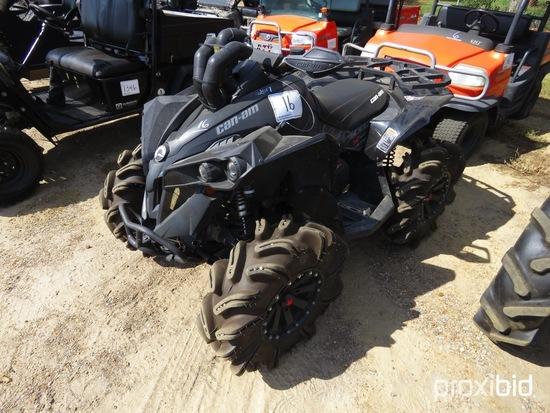 2018 Can-Am Renegade 1000 4WD ATV, s/n 3JBMXAX49JJ000285 (No Title - $50 Tr