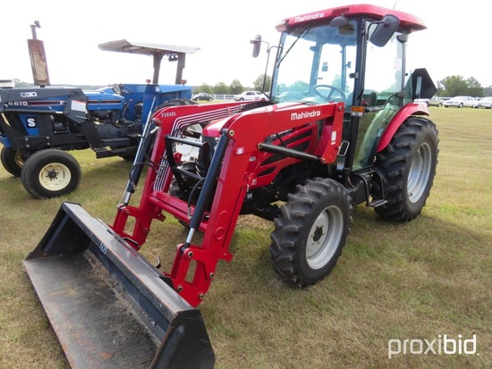 Mahindra 2565ST MFWD Tractor, s/n 65GCH00087: C/A, w/ Mahindra 2565CL Front