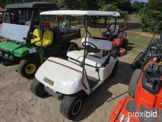 EZGo Electric Golf Cart, s/n 940257 (No Title): w/ Charger, No Reverse