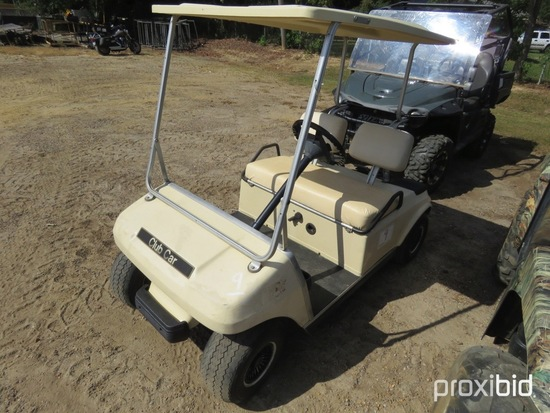 Club Car Electric Golf Cart, s/n A9431391996 (No Title): w/ Auto Charger