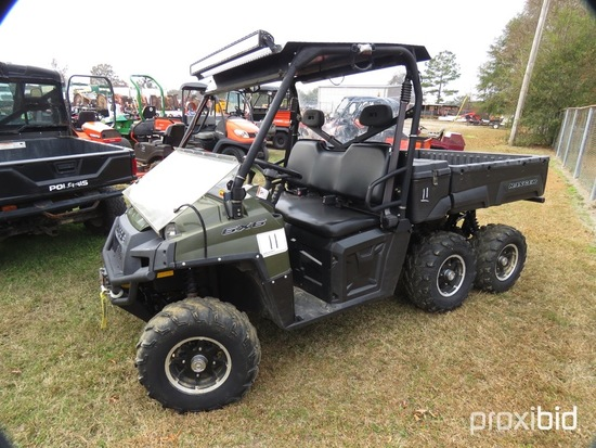 2011 Polaris Ranger 6x6 Utility Vehicle, s/n 4XAHK76A3B4262132 (No Title -