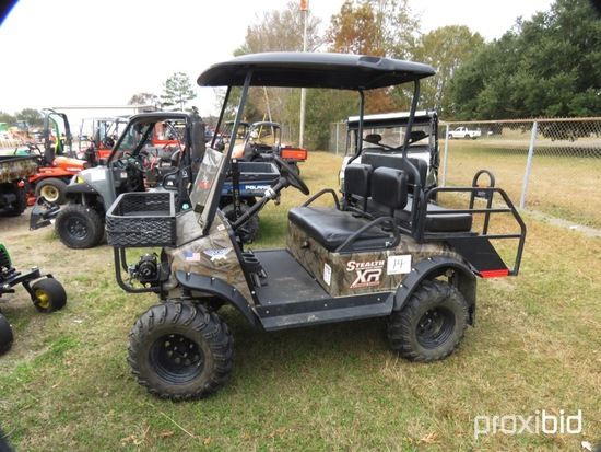 Stealth Patriot LSV 4WD Utility Cart, s/n SMEPA442X91100195 (No Title - $50