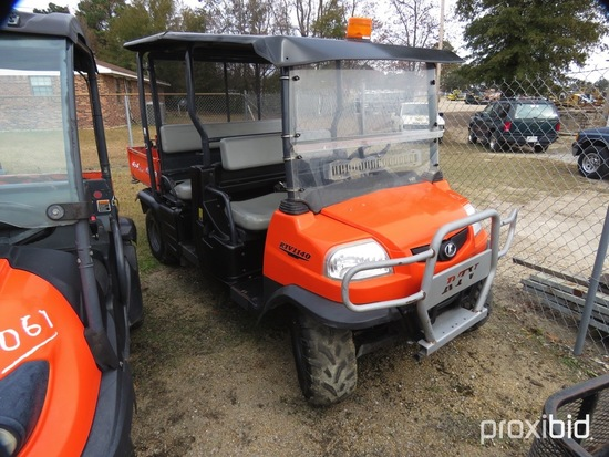 Kubota RTV1140CPX Utility Vehicle, s/n 36276 (Has Title - $50 Trauma Care F