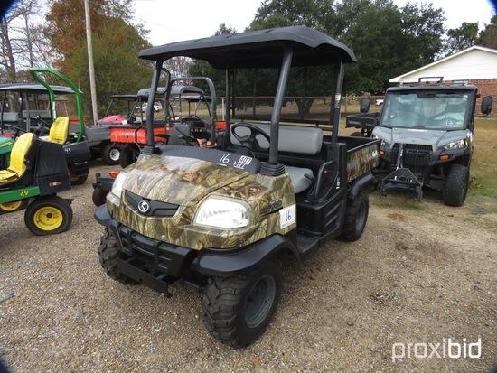 Kubota RTV900 4WD Utility Vehicle, s/n RTV900A41028328 (No Title - $50 Trau