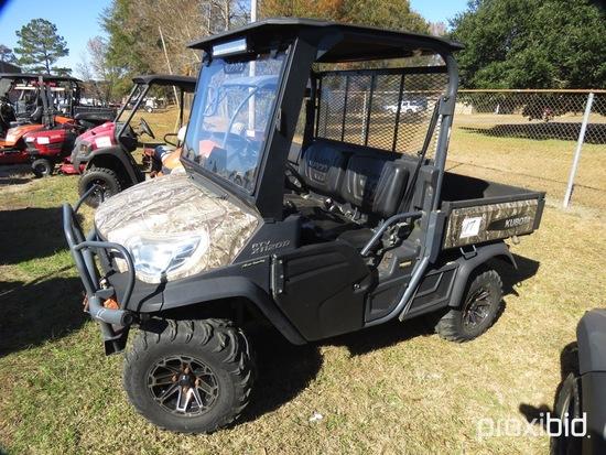 Kubota RTVX1120D 4WD Utility Vehicle, s/n 14406 (No Title - $50 Trauma Care