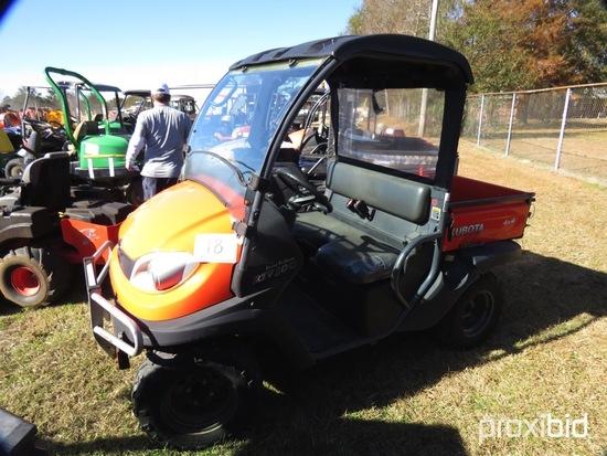 Kubota RTV500 4WD Utility Vehicle, s/n A5KA1CGACFG040725 (No Title - $50 Tr