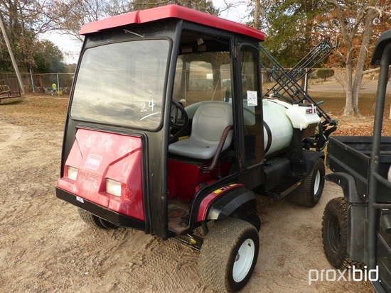 Toro MultiPro 5700D Sprayer, s/n 260000426: 3000-gal Tank, Sprayer w/ Foldi
