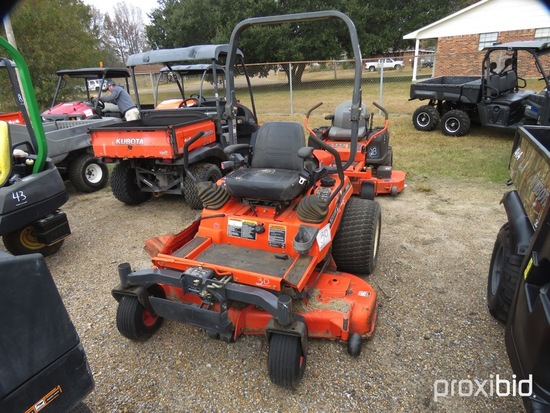 "Kubota ZD21 Zero-turn Mower, s/n 42272: 60"" Deck, Meter Shows 874 hrs"