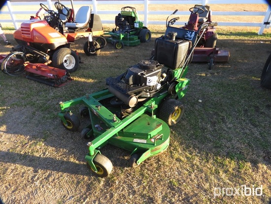 "John Deere WH48A Walk-behind Mower, s/n 1TCW48AGAFT060044: 48"" Cut"