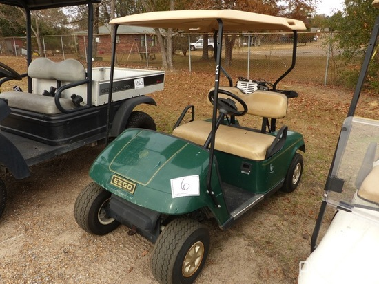 EZGo Electric Golf Cart, s/n 2160394 (No Title): 36-volt, Auto Charger