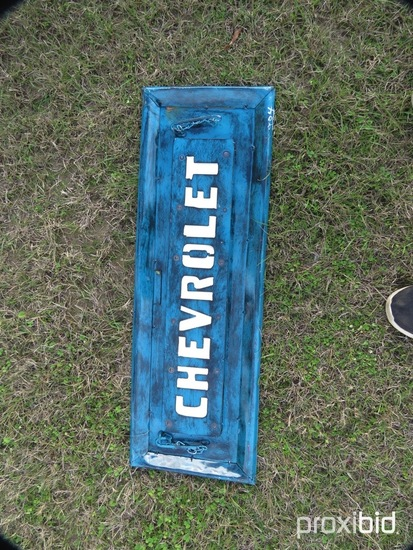 Chevy Tailgate Wall Hanging