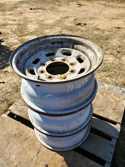 "(3) 16"" Ford Rims"