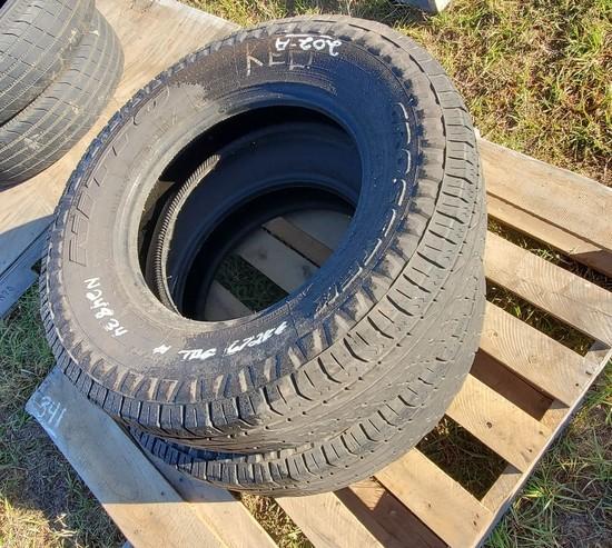 (2) LT235/80R-17 Truck Tires