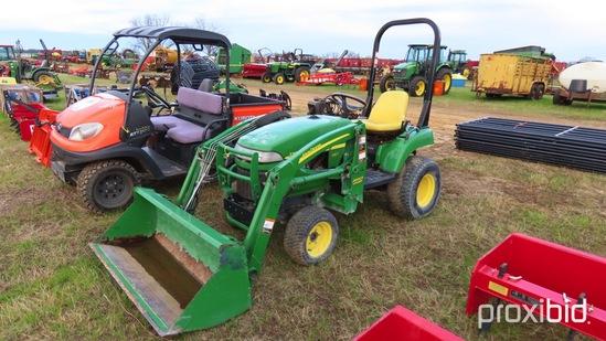 John Deere 2305 Tractor s/n 223935: Showing 529 hrs