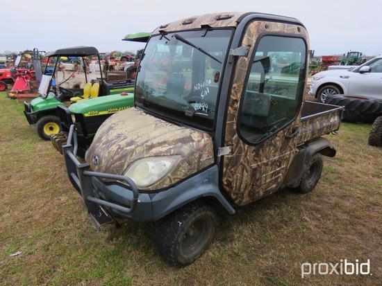 Kubota RTV1100 4WD Utility Vehicle s/n KRTV110091022897: Showing 2202 hrs