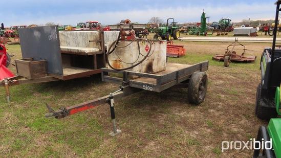 100-gallon Diesel Tank on Trailer w/ 12V Elec Pump