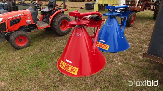 Hollow 500 Spin Spreader: Metal 3PH Red