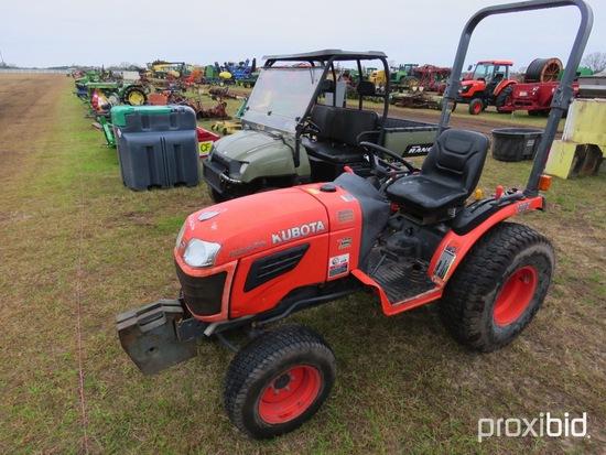 Kubota B2320 Tractor s/n 81423: Showing 1973 hrs