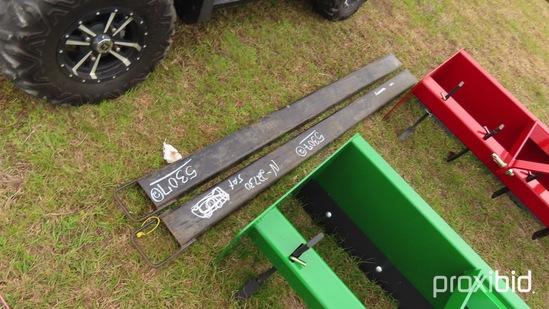 Set of Forklift Extension Forks
