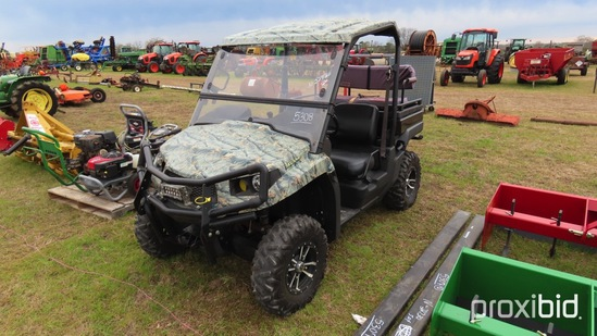 John Deere XUV550 Utility Vehicle s/n 1M0550TBCUM011707